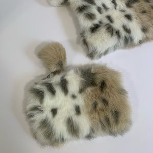 Pottery Barn Accessories - PB Teen Furry Pom Pom Bags Pencil Case Makeup